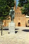 Mindes027 - Statue af Soeren Kanne