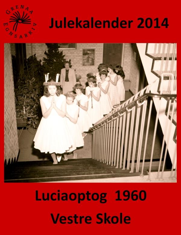 14 Luciaoptog 1960 Vestre Skole