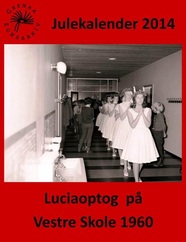 15 Luciaoptog paa Vestre Skole 1960