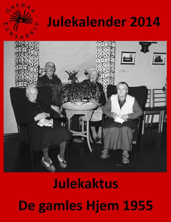 16 Julekaktus - De gamles Hjem 1955