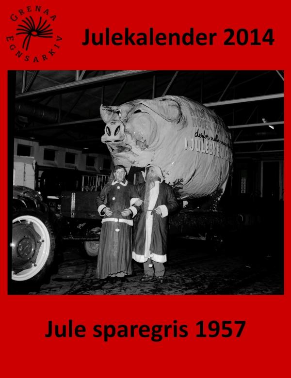 20 Jule sparegris 1957