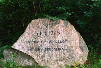 5. maj stenen i Fjellerup